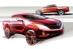 マツダ、新型ピックアップトラック「Mazda BT-50」を世界初公開