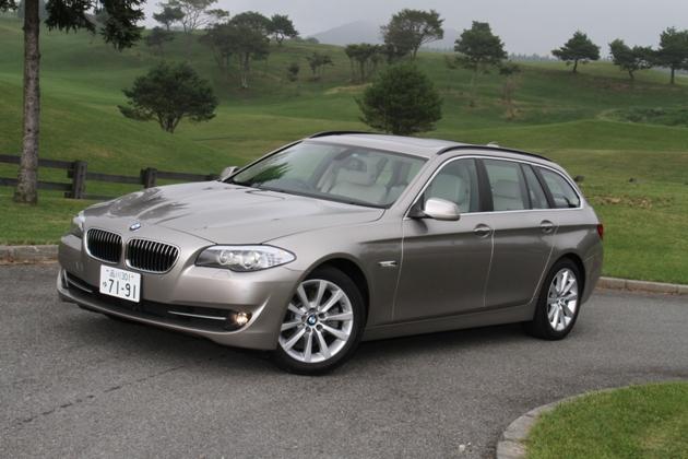 BMW 新型523iツーリング 試乗レポート