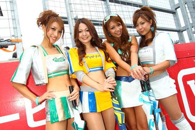 スーパーGT2010 最終戦だよ!GTレースクイーン総決算大出血サービス!#03