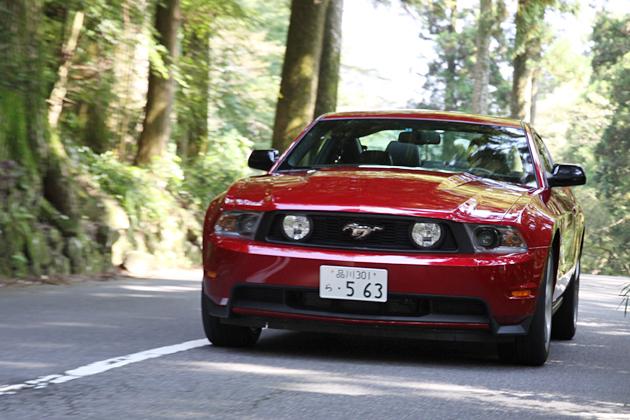 フォード マスタング 試乗レポート