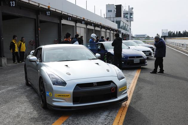 日産 GT-R 2011モデル試乗会