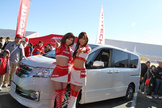 プロドライバーとの同乗走行も!「NISMOフェスティバル2010」開催