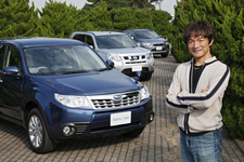 人気の国産SUV 4WDモデル 徹底比較