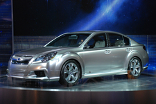 2009年 北米国際自動車ショーで発表された「レガシィコンセプト」