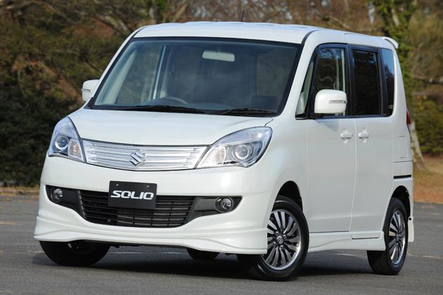 売れ筋本命の新型ソリオ「X」/最上級グレードの新型ソリオ「S」