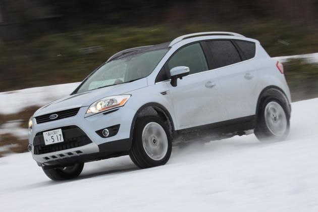 フォード クーガ 雪上試乗レポート/マリオ高野