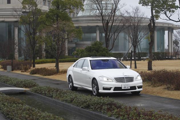 新型S63 AMGロング 試乗レポート/清水草一