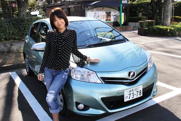 トヨタ 新型ヴィッツ 試乗レポート/今井優杏