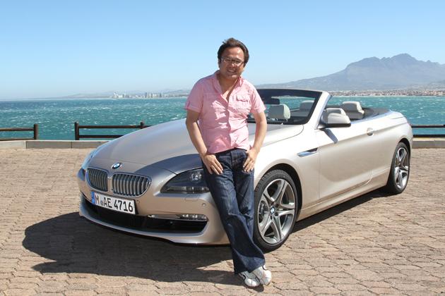 BMW 新型6シリーズカブリオレ 試乗レポート