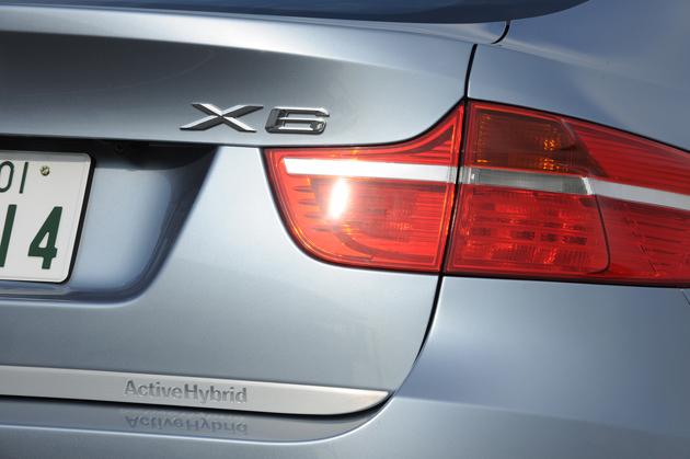 BMW アクティブハイブリッド X6 試乗レポート