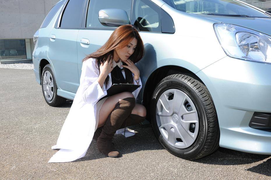 ホンダ フィットシャトル/藤田里美の診察しちゃうぞ!