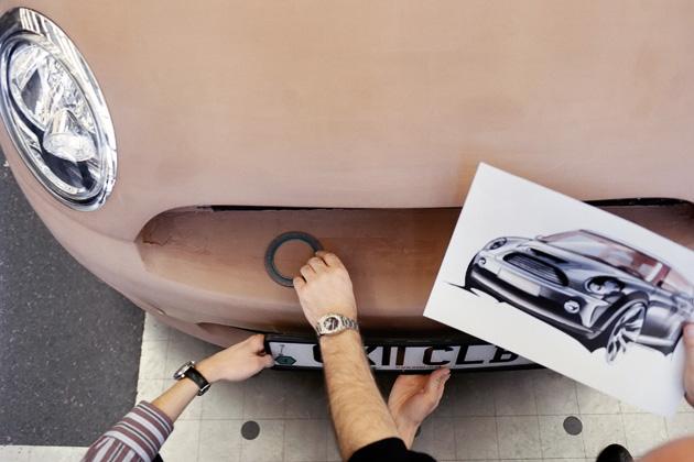 現行 BMW MINIのクレイモデル
