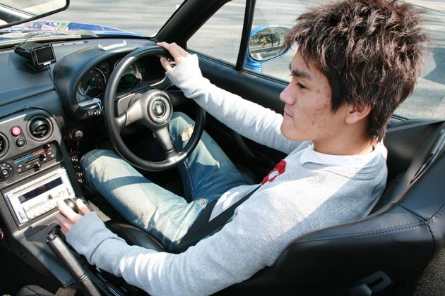 小河諒選手/今井優杏の「あなたの愛車教えてください!」