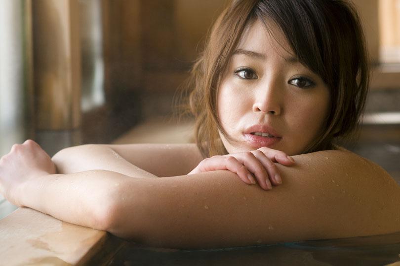 濡れ湯美人 Audi A1 × 成海 舞