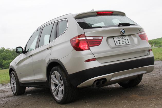 BMW 新型X3 試乗レポート/岡本幸一郎