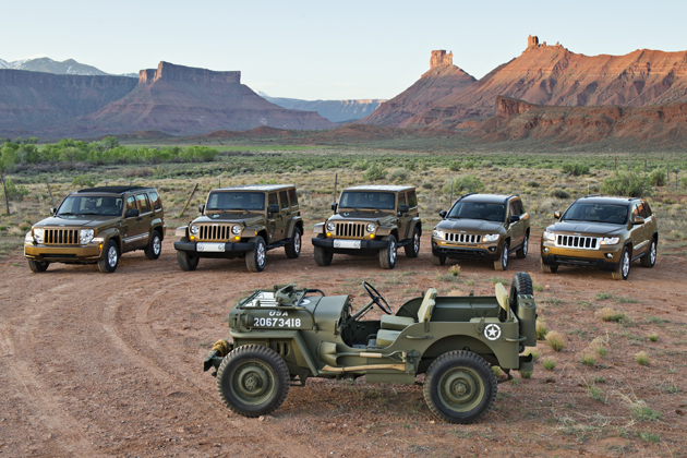 Jeep 70th Anniversary Edition