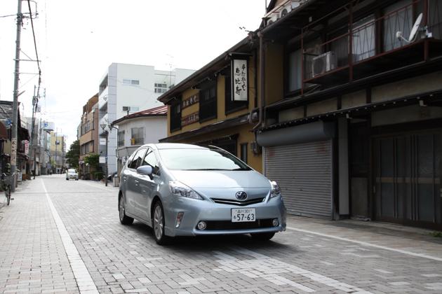 トヨタ プリウスα 実燃費レポート/岡本幸一郎