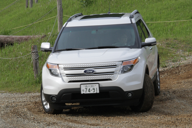 フォード 新型エクスプローラー 試乗レポート/松田秀士