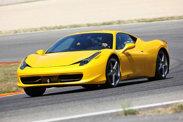 フェラーリの最新モデル「458イタリア」