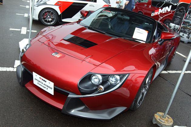 トヨタのハイブリッド・スポーツ コンセプトカー「GRMN SPORTS HYBRID Concept II」、SUGOで日本初披露