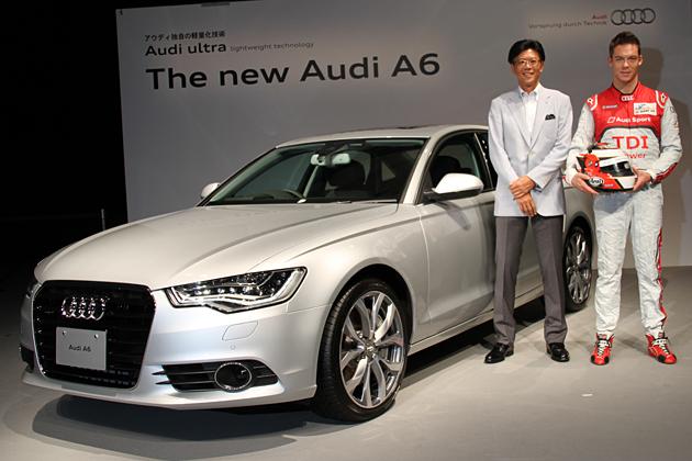 アウディ 新型 A6 発表会速報