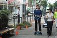 トヨタ ウィングレットの実走行テスト風景(豊田市)