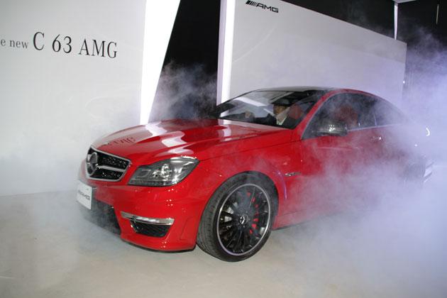 メルセデス・ベンツ C63 AMG クーペ 発表会