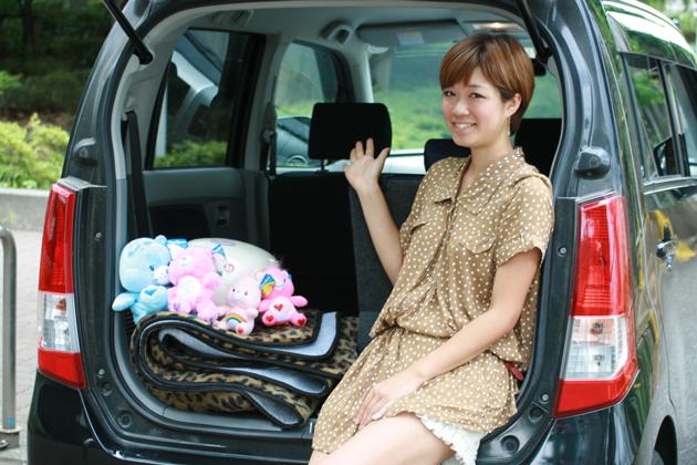 ほりちかさん/今井優杏の自動車美人