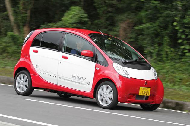 三菱 i-MiEV 試乗レポート/岡本幸一郎