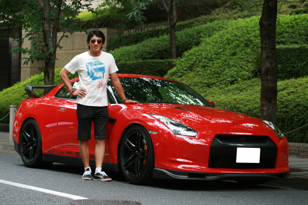影山正美選手/GT-R(R35)