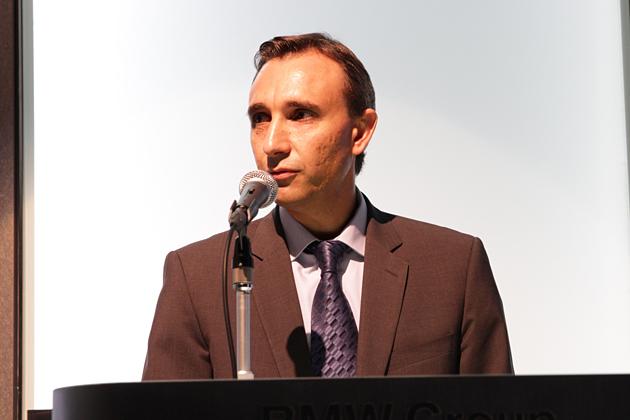 BMW AG 走行機能/評価担当部長のアルバレド ベルナルド ロペス氏