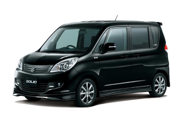 ソリオ特別仕様車「BLACK&WHITE」 ブルーイッシュブラックパール3