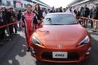 トヨタの新型FRスポーツ「86(ハチロク)」が富士スピードウェイで早くもお披露目!