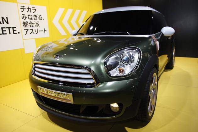 東京モーターショー2011速報 MINIブース