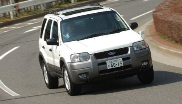 フォード エスケープ V6 3000 LIMITED AWD 新型車徹底解説