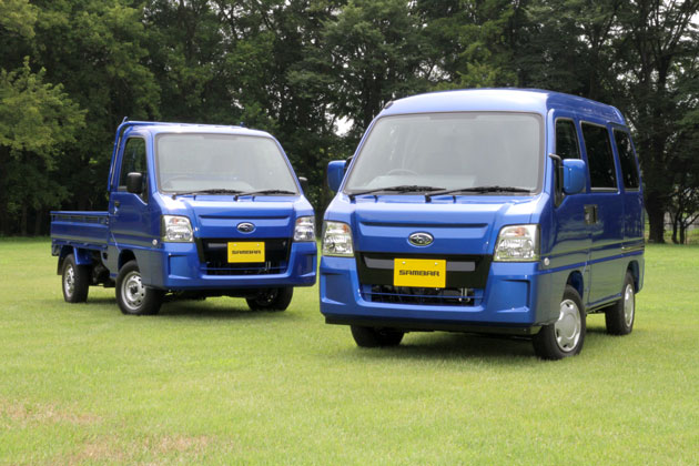 サンバー Track & Van WR BLUE LIMITED