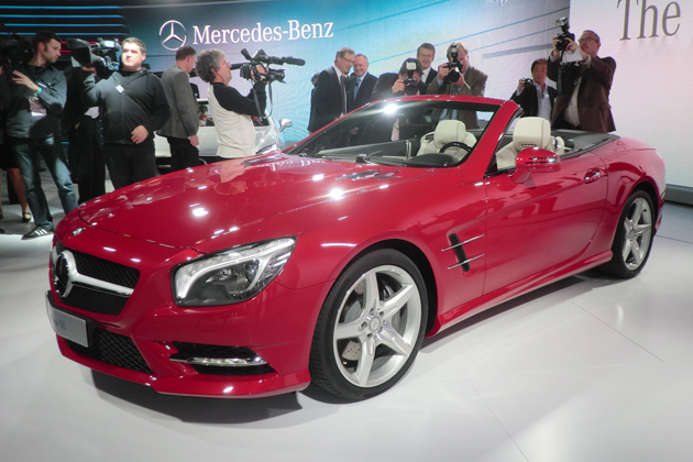 メルセデス・ベンツ 新型「SL」が世界初披露!