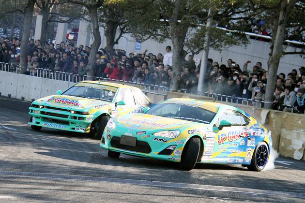 東京オートサロン2012 画像ギャラリー「D1 GP Kick Off Drift」幕張メッセで激近ドリフト!