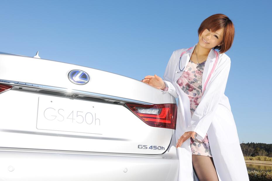 レクサス GS/安枝瞳の診察しちゃうぞ!