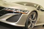 「ホンダ NSX コンセプト」ヘッドランプ