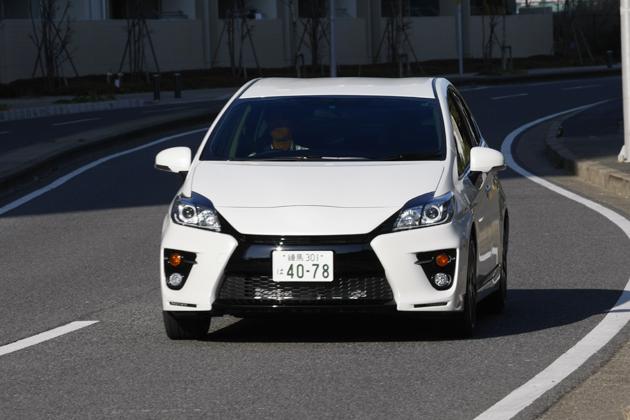 トヨタ プリウス G SPORTS(G's) 試乗レポート/飯田裕子