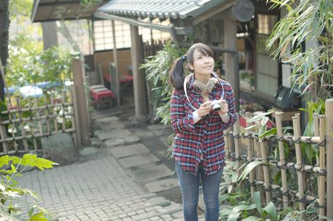 なんか京都に来たみたいだね。 「でも実際はここ東京の調布なんですよね!」  あ、言っちゃた。。。