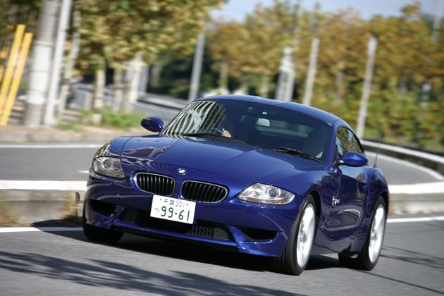 BMW Z4 Mクーペ 試乗レポート