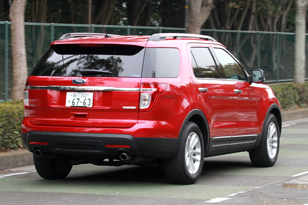 フォード エクスプローラー 2.0 XLT EcoBoost 試乗レポート/小沢コージ もうビッグミニバンなんていらない?