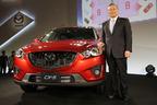 SUVでトップの燃費と手頃な価格が魅力的!マツダ CX-5 新型車発表会速報