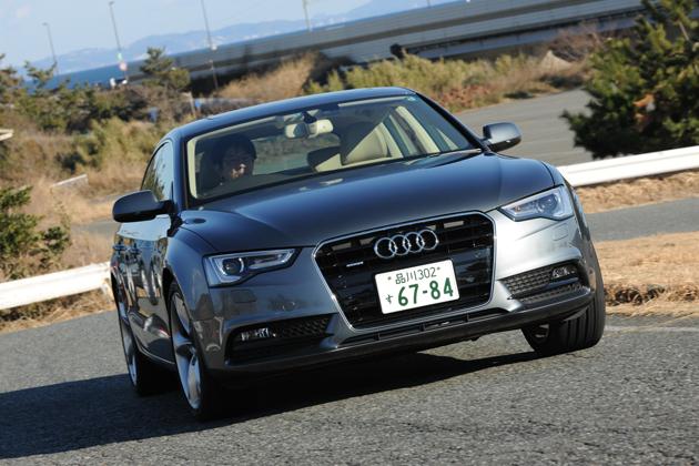 アウディ 新型A5&A5スポーツバック(2012年モデル) 試乗レポート/渡辺陽一郎