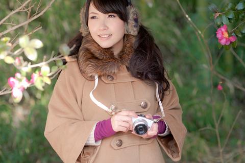 お色直しですか。「実はカメラは趣味としてはじめたばかりなんです」 そうだったの?カメラ持つ手が意外と様になってるよ!